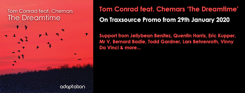 NEW RELEASE – Tom Conrad feat. Chemars 'The Dreamtime'