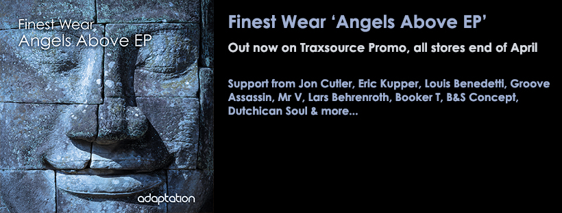 OUT NOW – Finest Wear 'Angels Above EP'